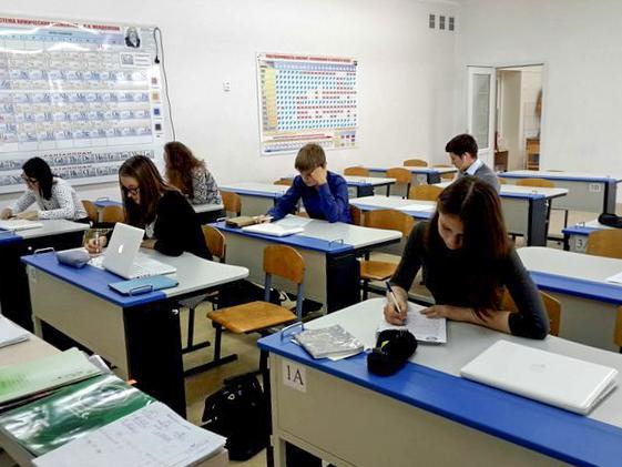 Тестирование в в Школе будущего пос. Большое Исаково Калининградской области