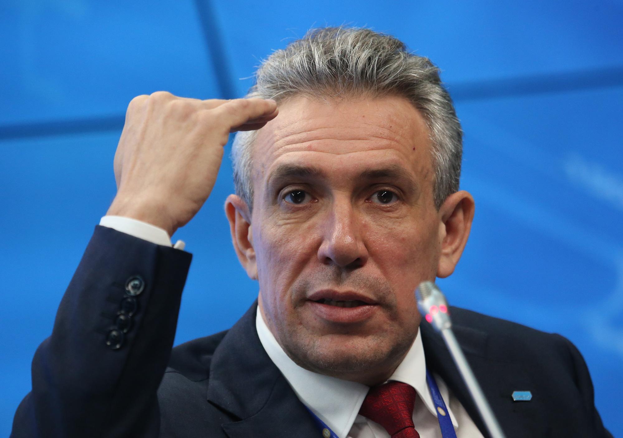 Председатель Внешэкономбанка Сергей Горьков