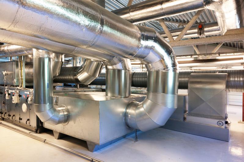 Вентиляционная система для обслуживания чистых зон