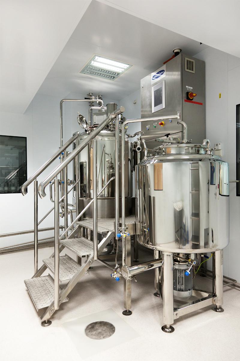 Система реакторов для приготовления крема