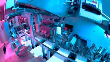 <b>Автомат групповой упаковки (case-packer)</b><br> <span>Автоматическая линия для производства суппозиториев: SAAS 6 (Sarong,Италия)</span>