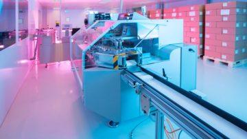 <b>Автоматическая линия для производства суппозиториев: SAAS 6 (Sarong, Италия)</b>