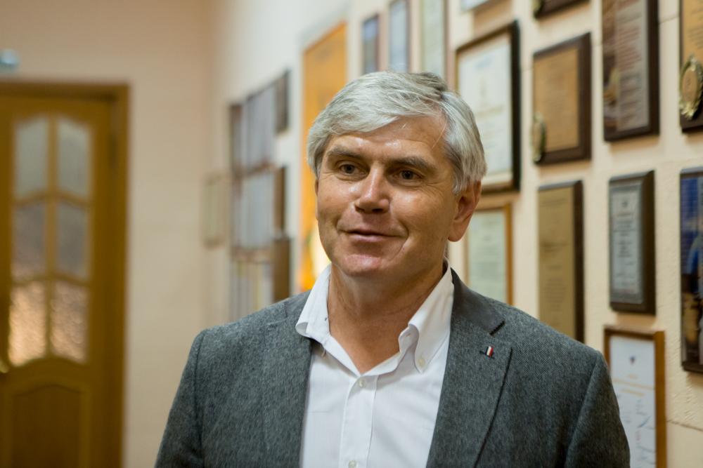 Александр Хромов, генеральный директор МБ НПК Цитомед на финале РШФ