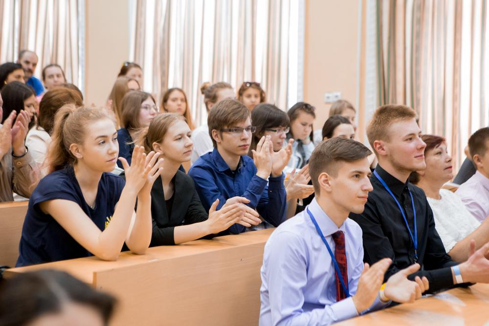 Участники ScienceSlam в гостях у РШФ