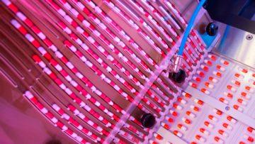 <b>Загрузка капсул в сформированные ячейки</b><br> </span>Автоматическая блистерно-картонажная линия (CAM, Италия)</span>