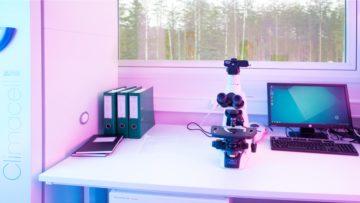 <b>Микробиологическая лаборатория завода Cytomed OY (Лаппеэнранта, Финляндия)</b>