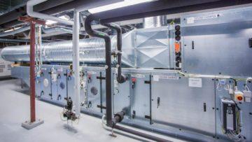 <b>Вентиляционная система для обслуживания чистых зон (Cytomed OY, Лаппеэнранта, Финляндия)</b>