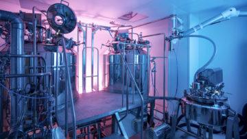 <b>Установка для приготовления сиропа</b><br><span>Автоматизированная линия УПС-1250 (АРТЛАЙФ ТЕХНО, Россия)</span>