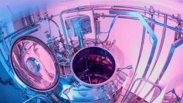 <b>Реактор для приготовления сиропа</b><br><span>Автоматизированная линия УПС-1250 (АРТЛАЙФ ТЕХНО, Россия)</span>