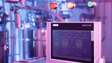 <b>Пульт управления с сенсорным экраном</b><br><span>Автоматизированная линия для приготовления сиропа УПС-1250 (АРТЛАЙФ ТЕХНО, Россия)</span>