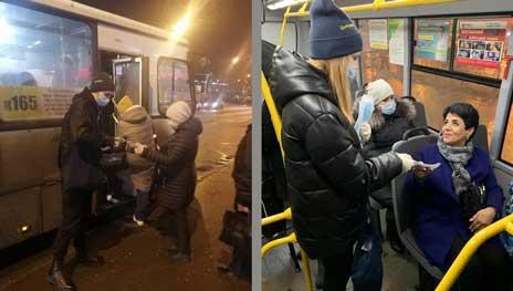 """Социальная акция фармкомпании Цитомед 2021 в автобусах Цитовир-3: """"Маршруты здоровья"""""""