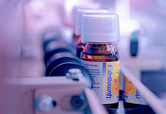 Цитовир – 3 снижает вирусную нагрузку новой коронавирусной инфекции на организм